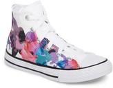 Converse Toddler Girl's Chuck Taylor All Star Print High Top Sneaker