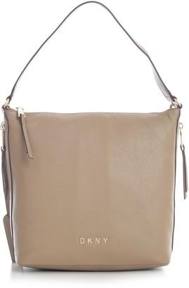 DKNY Tappen Lg Conv Zip Hobo Pebble Leather
