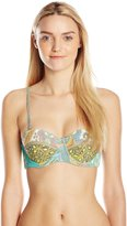 Maaji Women's Route Sixty Six Bikini Top with Soft Cups