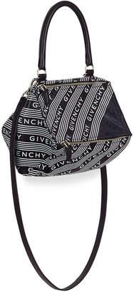 Givenchy Pandora Small Bicolor Logo Satchel Bag