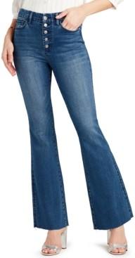 Sam Edelman Denim Stiletto High-Rise Flared Jeans