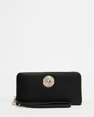 GUESS Belle Isle SLG Large Zip Around Wallet