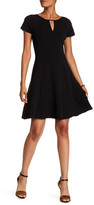 Sandra Darren Short Sleeve Knit Dress