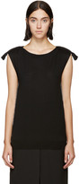 Lanvin Black Rope Piping Sweater