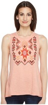 Roper 0891 Heather Jersey Tank Top Women's Sleeveless