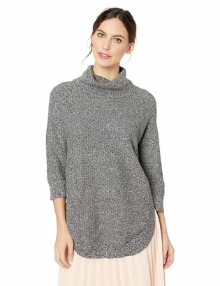 Chaus Women's 3/4 SLV Cowl Neck Sweater