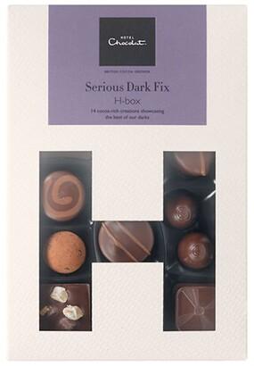 Hotel Chocolat Serious Dark Fix H-Box Selection Box