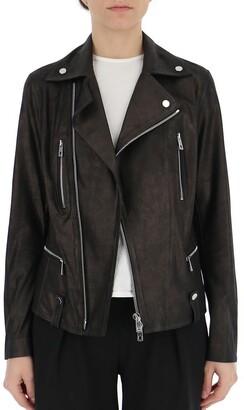 Desa 1972 Zipped Biker Jacket