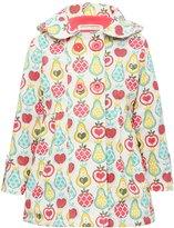 M&Co Minoti fruit print hooded jacket