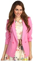 Ted Baker - Meeda Double Breasted Blazer (Bright Pink) - Apparel