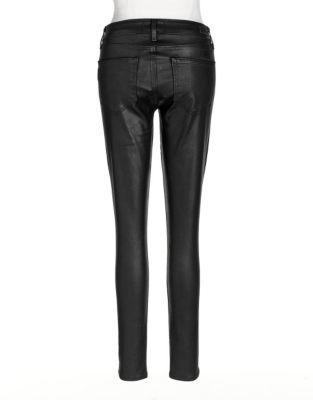 Paige Coated Skinny Jeans