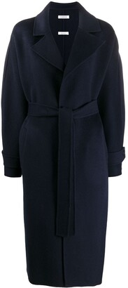 P.A.R.O.S.H. Oversized Belted Wool Coat
