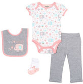 Chick Pea Four-Piece Deluxe Elephant Bodysuit Set