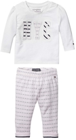 Tommy Hilfiger Th Baby 2-Piece Top & Pant