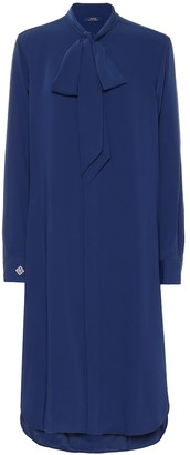 Polo Ralph Lauren Long-sleeved midi dress