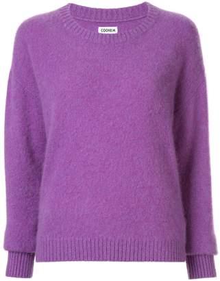 Coohem crewneck knitted jumper