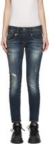R 13 Indigo Boy Skinny Jeans