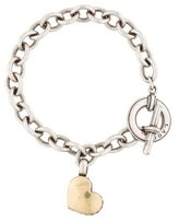 Lagos Toggle Heart Charm Bracelet