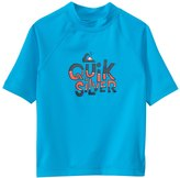 Quiksilver Kid's Free Play Short Sleeve Rash Guard 8136748