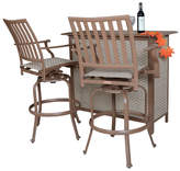 Panama Jack Island Breeze 3 Piece Slatted Bar Set