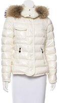 Moncler Fur-Trimmed Armoise Jacket