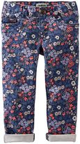 Osh Kosh Girls 4-8 Stretchy Knit Twill Pants