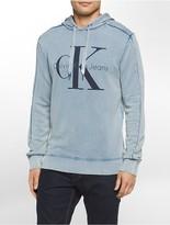 Calvin Klein Bleached Logo Hoodie
