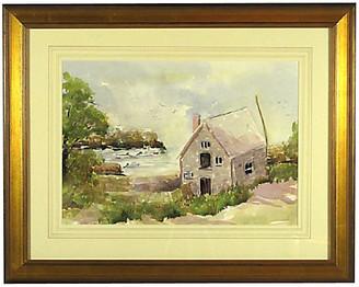 One Kings Lane Vintage North Shore Massachusetts Coastline - The Barn at 17 Antiques Art