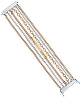Lucky Brand Faux-Pearl Multi-Row Magnetic Line Bracelet
