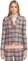 Brooks Brothers Plaid Little Boy Jacket