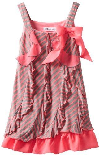 Bonnie Jean Girls 2-6X Knit Ruffle Dress
