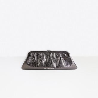 Balenciaga Cloud XL Clutch With Strap