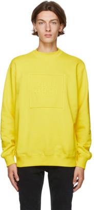 Opening Ceremony Yellow Box Logo Sweatshirt