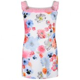 Pate De Sable Pate De SableFloral Print Beach Dress