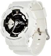 Casio G-Shock Women's Analog Digital Black on White Resin Watch