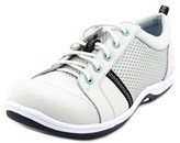Easy Street Shoes Buffy Women Round Toe Leather Gray Sneakers.