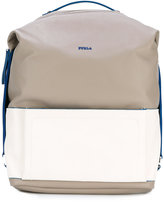Furla Icaro large backpack - men - Calf Leather/Polyester - One Size