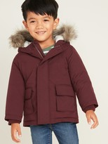 Old Navy Hooded Faux-Fur Trim Parka for Toddler Boys