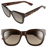 Jimmy Choo Women's 'Ottis' 53Mm Sunglasses - Black Spotted