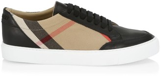 Burberry New Salmond Vintage Check Sneakers