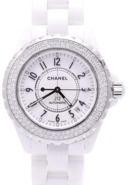 Chanel J12 Titanium & Ceramic Quartz 38mm Mens Watch