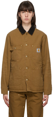 Carhartt Work In Progress Brown OG Chore Coat