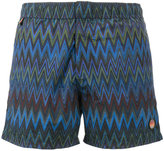 Missoni zigzag print swim shorts - men - Nylon - XXL