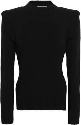 Alberta Ferretti Virgin Wool And Cashmere-blend Sweater