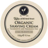 Taylor of Old Bond Street Organic Shave Cream Bowl by 150g Shave Cream)