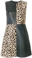 Dvf Diane Von Furstenberg block print shift dress