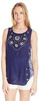 Lucky Brand Women's Scoop-Neck Tank Top In Indigo