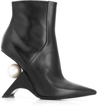 Nicholas Kirkwood JAZZELLE ankle boots 105mm