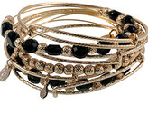 Jet Luxe Expandable Wire Bangle Set