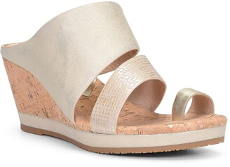 Donald J Pliner Montce Wedge Slide Sandal